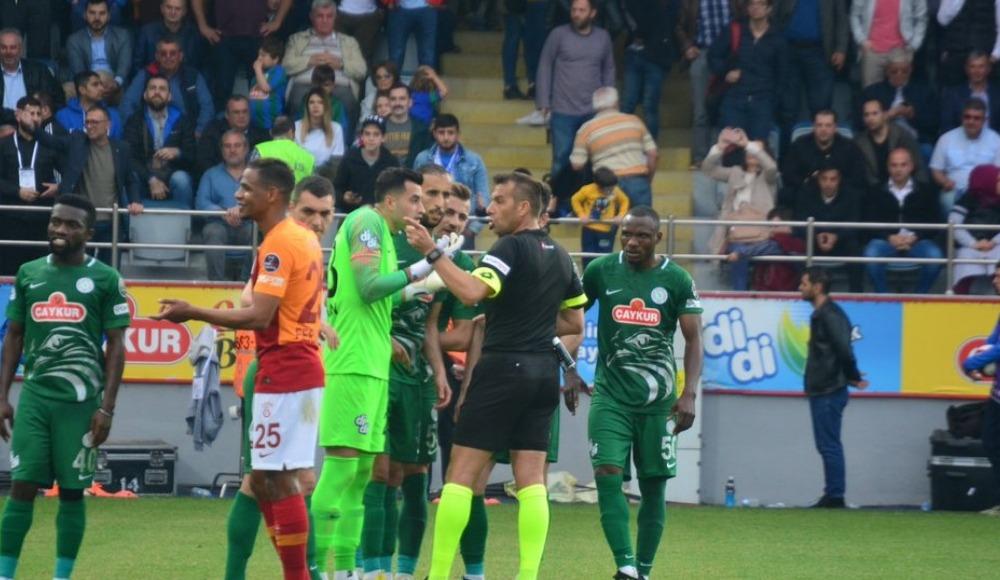 Fenerbahçe, Rizespor-Galatasaray maçı sonrası harekete geçti