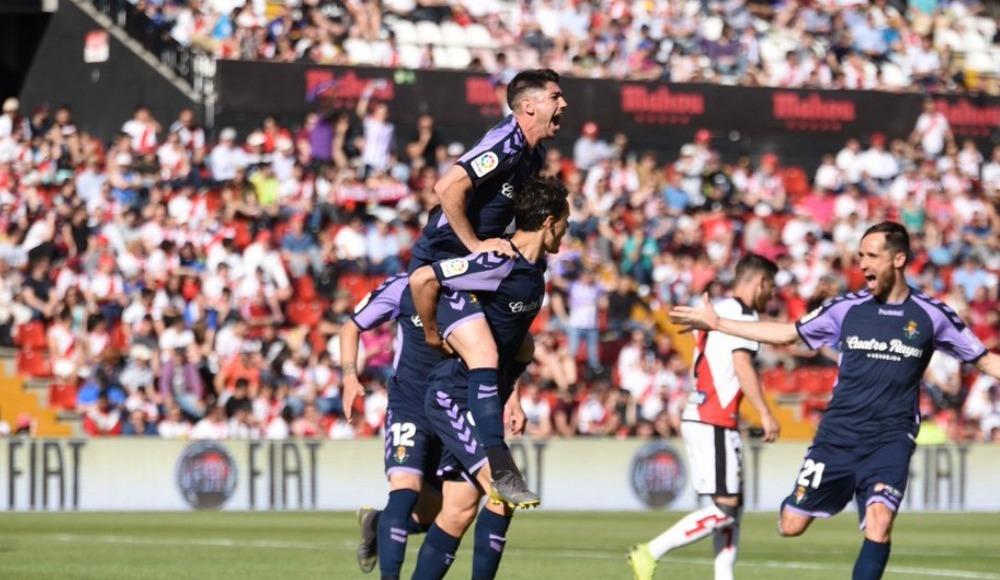 Enes Ünal, Real Valladolid'i La Liga'da tutmayı başardı!