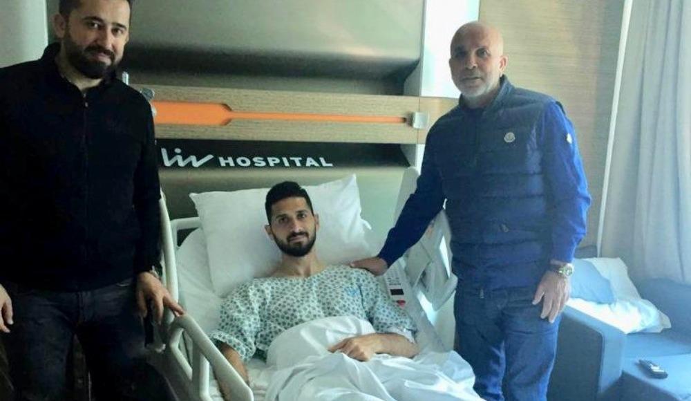 Hasan Çavuşoğlu'ndan Emre Akbaba'ya geçmiş olsun ziyareti!