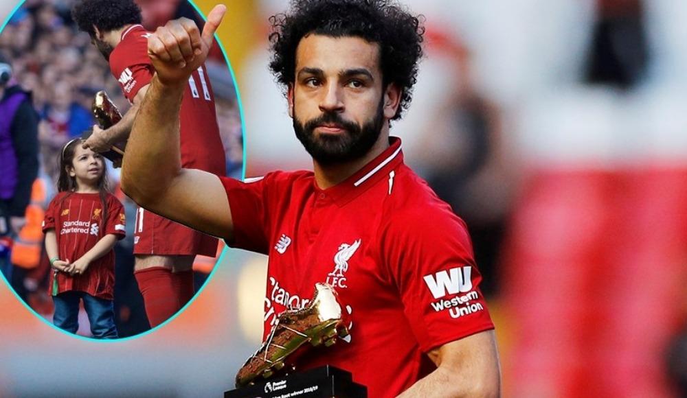 """Mohamed Salah'ın kızından babasına: """"Bunda bizde var baba"""""""