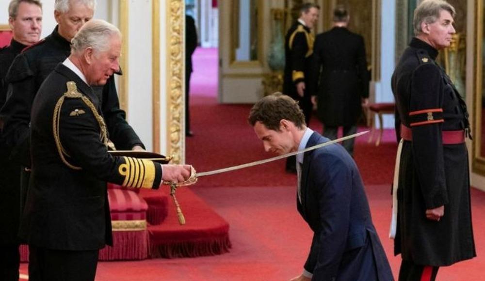 Ünlü tenisçi Andy Murray şövalye ilan edildi!