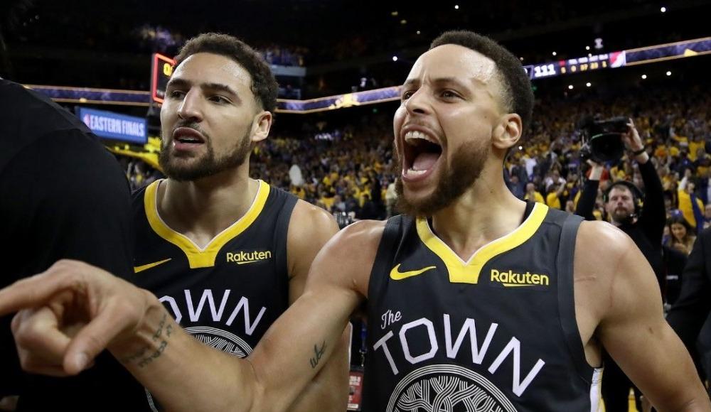 NBA'de Golden State Warriors, seride 2-0 önde!