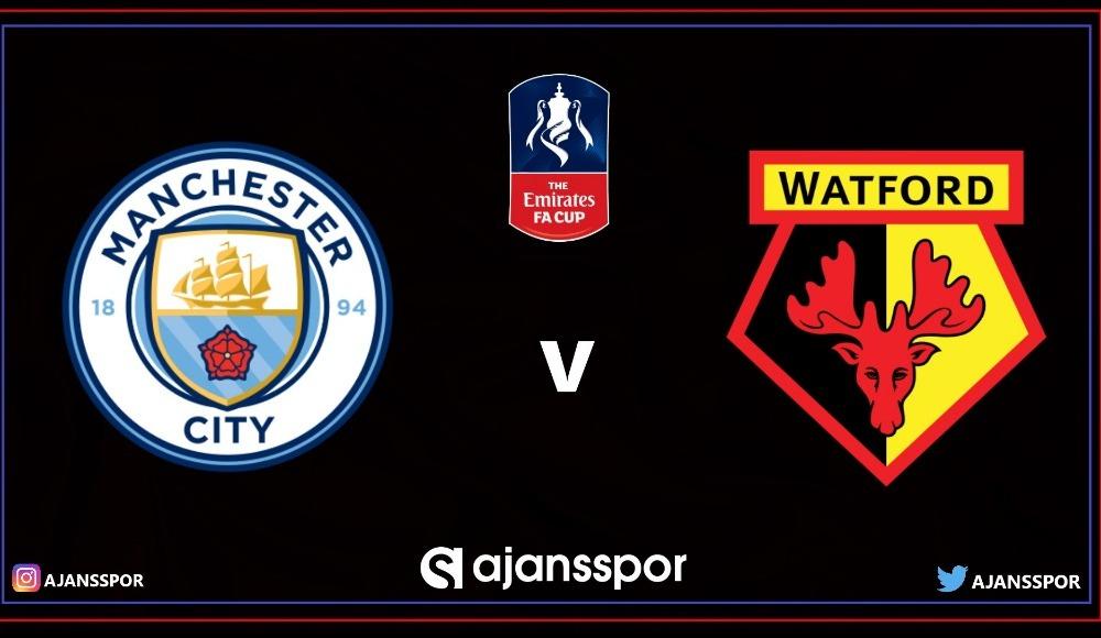 Manchester City - Watford (Canlı Skor)