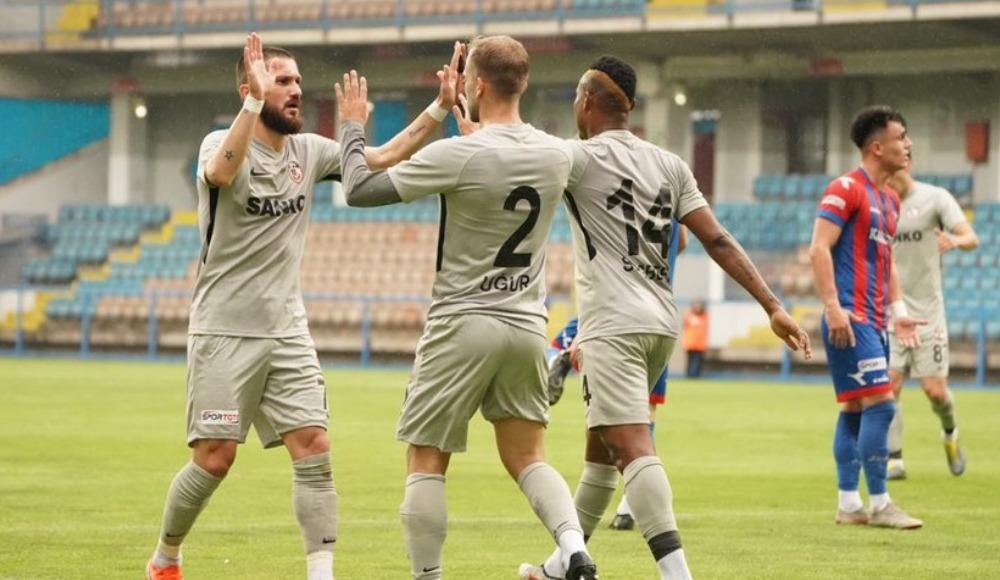 Gazişehir Gaziantep play-off biletini kaptı!