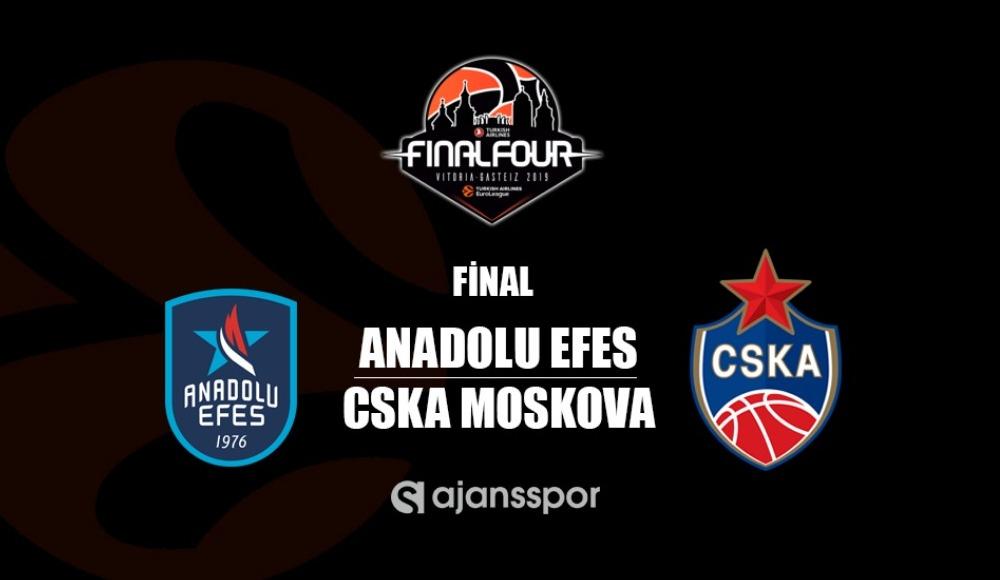Anadolu Efes - CSKA Moskova (Canlı Skor)