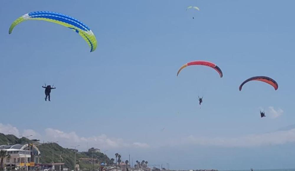 Türkiye Yamaç Paraşütü Hedef Şampiyonası tamamlandı