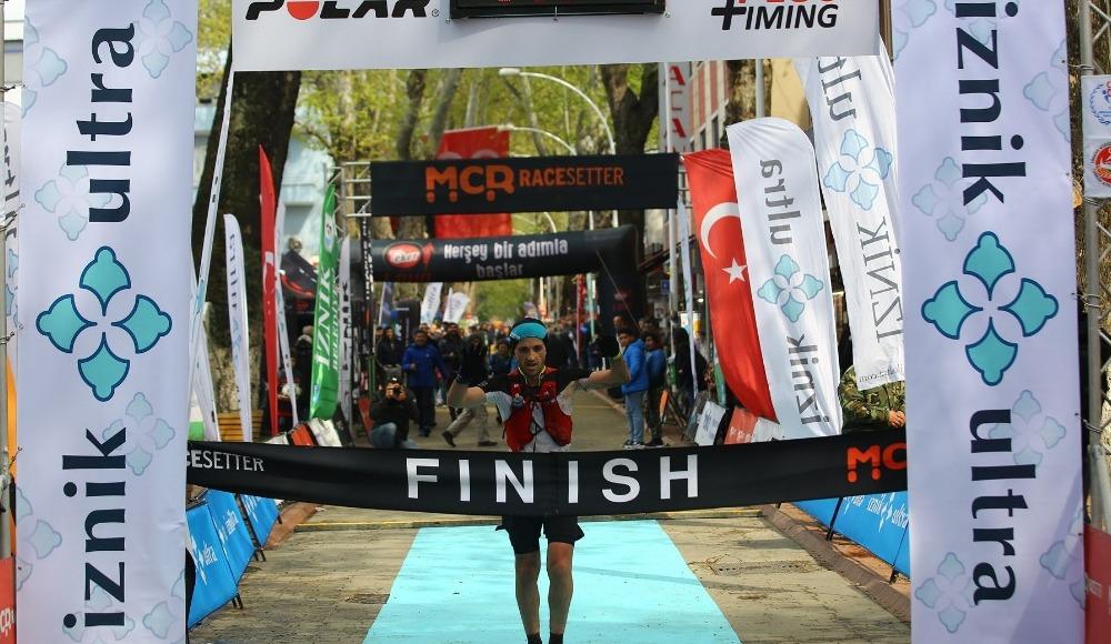 Mehmet Yıldırım İznik Ultra  Maratonu'nda yine kazandı