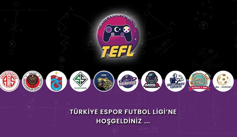 Türkiye E-Spor Futbol Ligi başlıyor