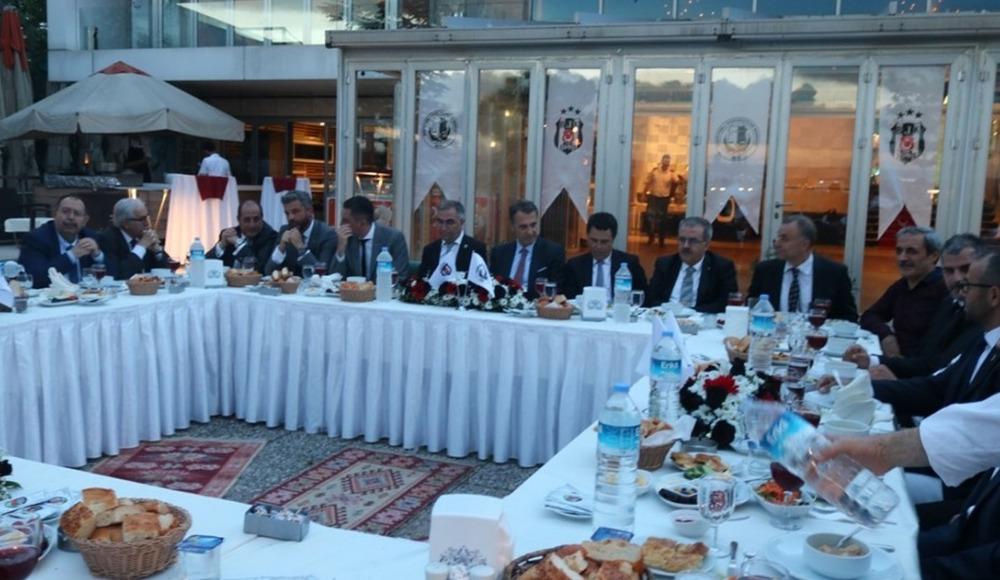 Fikret Orman, Beşiktaşlı Hukukçular Derneği iftarına katıldı