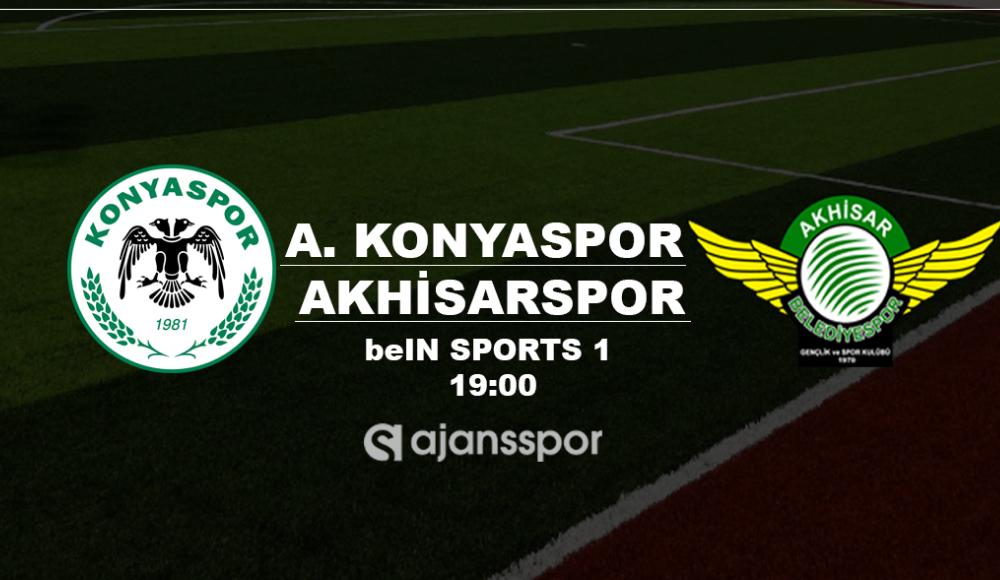 Konyaspor - Akhisarspor (Canlı Skor)