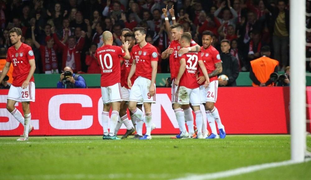 Almanya Kupası Bayern Münih'in! 0-3