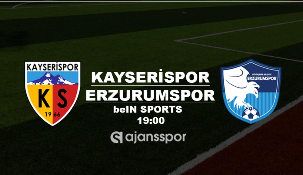 Kayserispor - Erzurumspor (Canlı Skor)