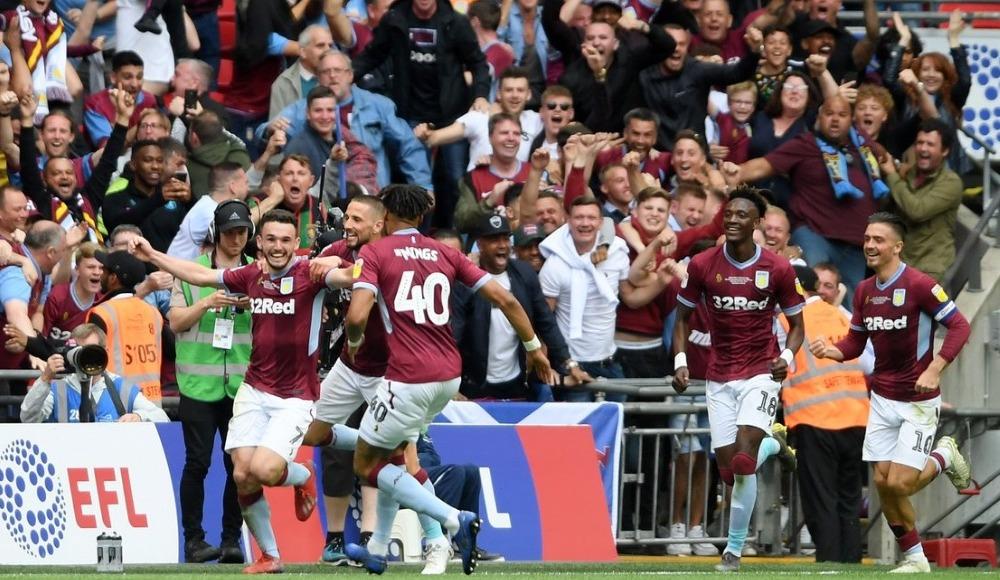 Aston Villa Premier Lig'e yükseldi