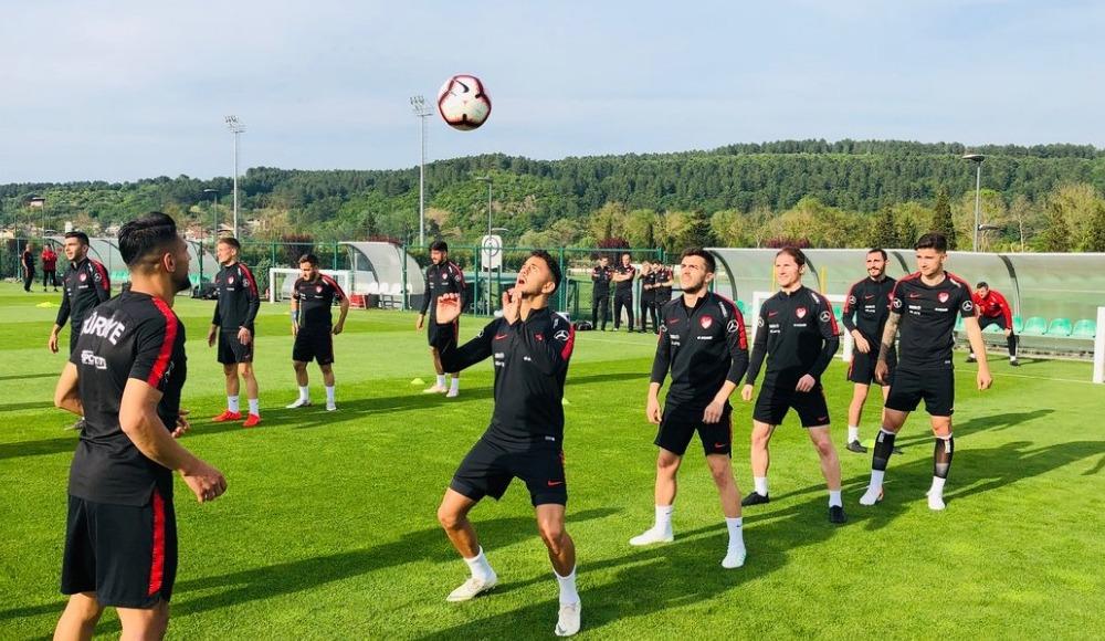 Ümit Milli Futbol Takımı, Arnavutluk maçı hazırlıklarına başladı