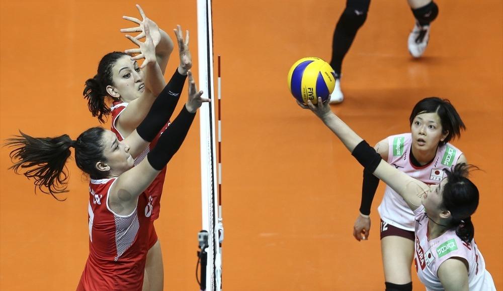 A Milli Kadın Takımı, ikinci hafta ilk maçında Japonya'ya 3-0 yenildi