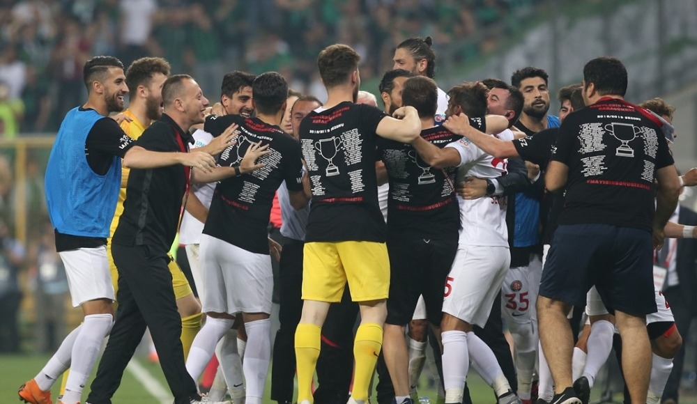 Fatih Karagümrük, Spor Toto 1. Lig'de!