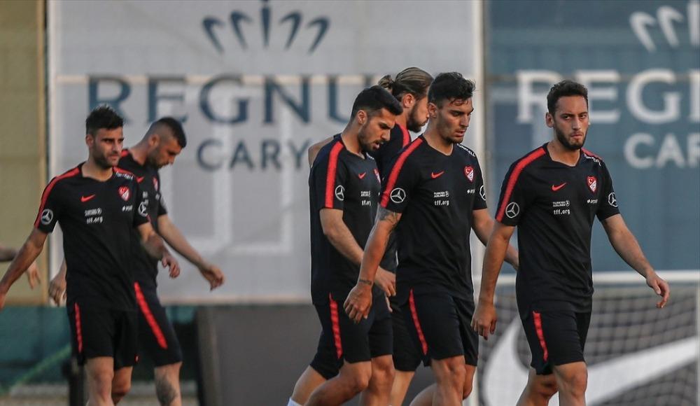 A Milli Takım, Özbekistan maçı hazırlıklarını tamamladı