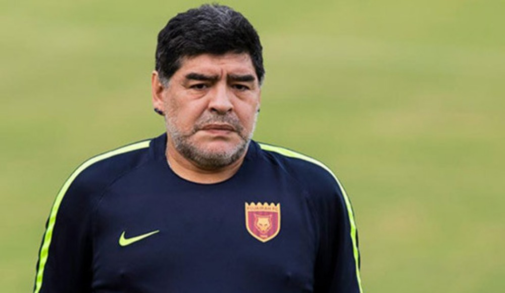Maradona: ''Manchester United ile kupalar kazanabilirim''