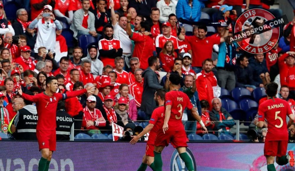 Cristiano Ronaldo yine boş geçmedi! Portekiz...