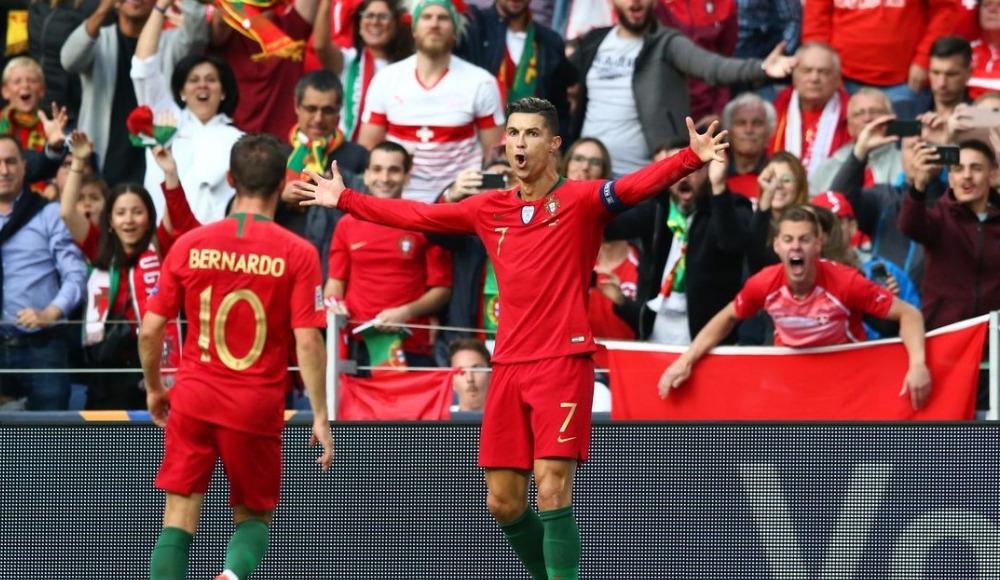 Özet - Ronaldo hat-trick yaptı, Portekiz Uluslar Ligi'nde finale yükseldi!