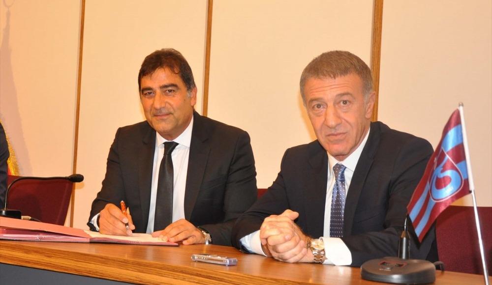 Ünal Karaman 2 yıl daha Trabzonspor'da! İmza töreninde çarpıcı açıklamalar...