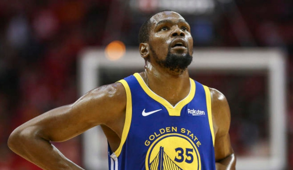 Golden State Warriors'a kötü haber! Durant...