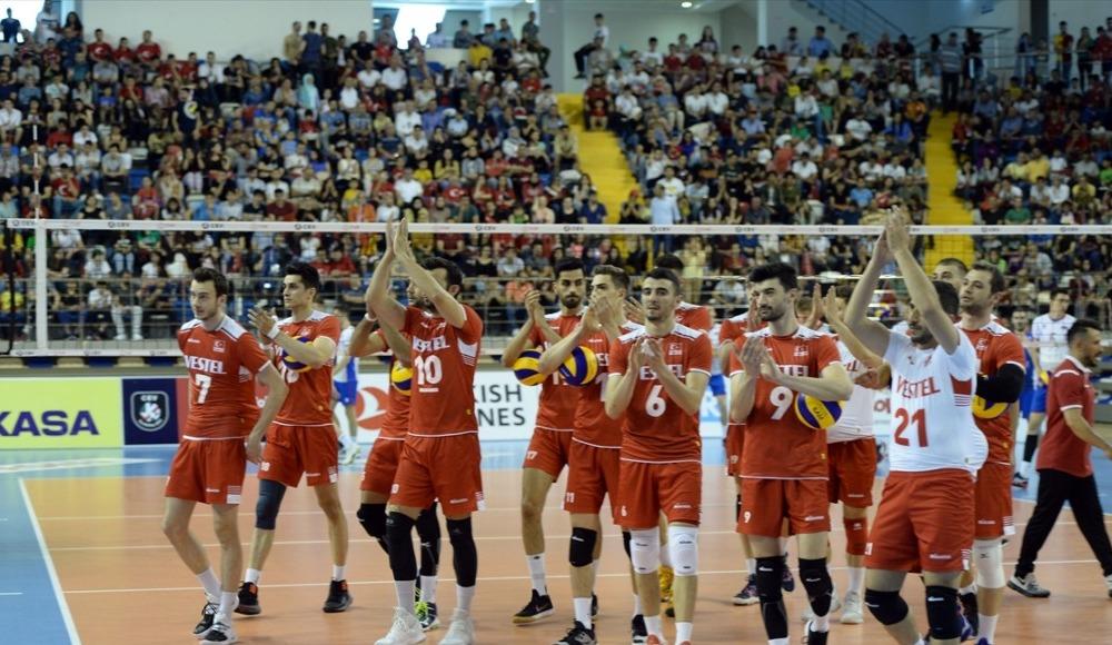 A Milli Erkek Voleybol Takımı, ligdeki dördüncü maçını da kazandı