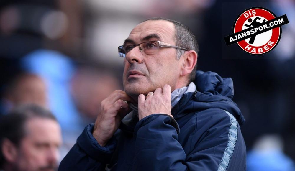 Maurizio Sarri, Juventus'u resmen açıkladı!