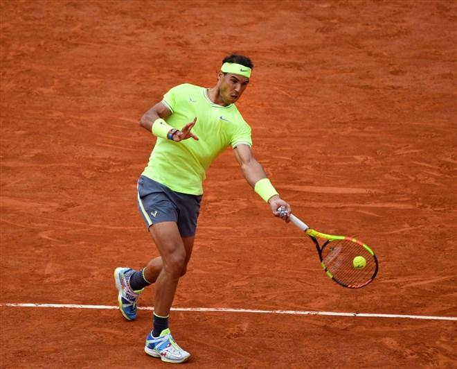 Fransa Açık Tenis Turnuvası'nda şampiyon Nadal!