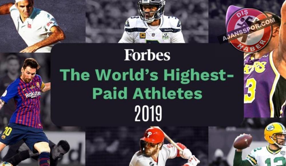 Forbes açıkladı! İşte en çok kazanan sporcular...
