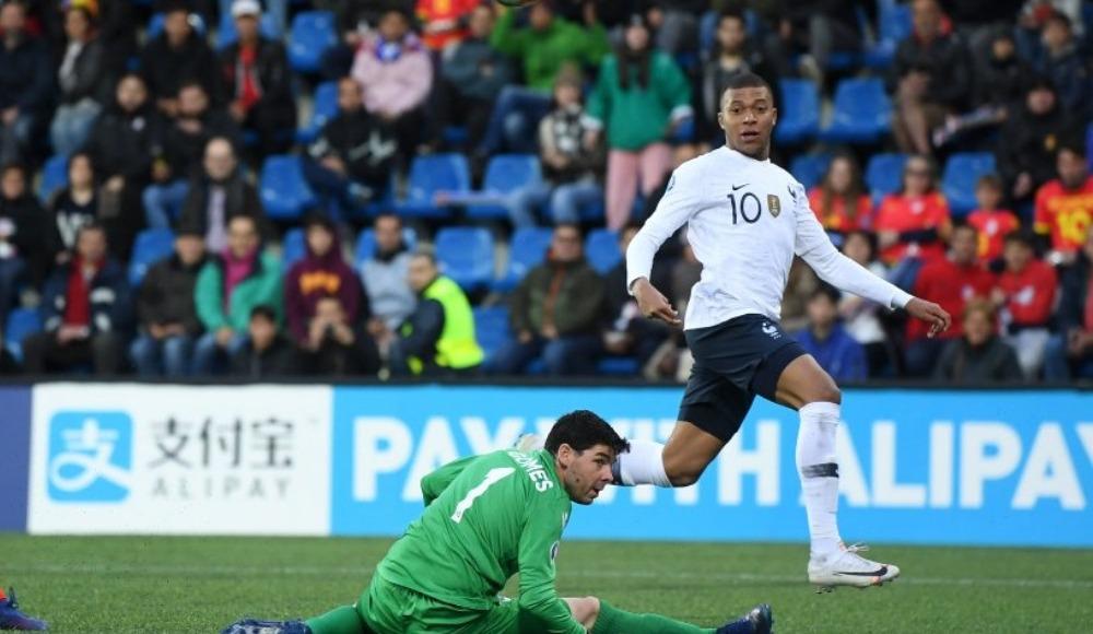 Fransa, Andorra'yı 4-0 ile geçti