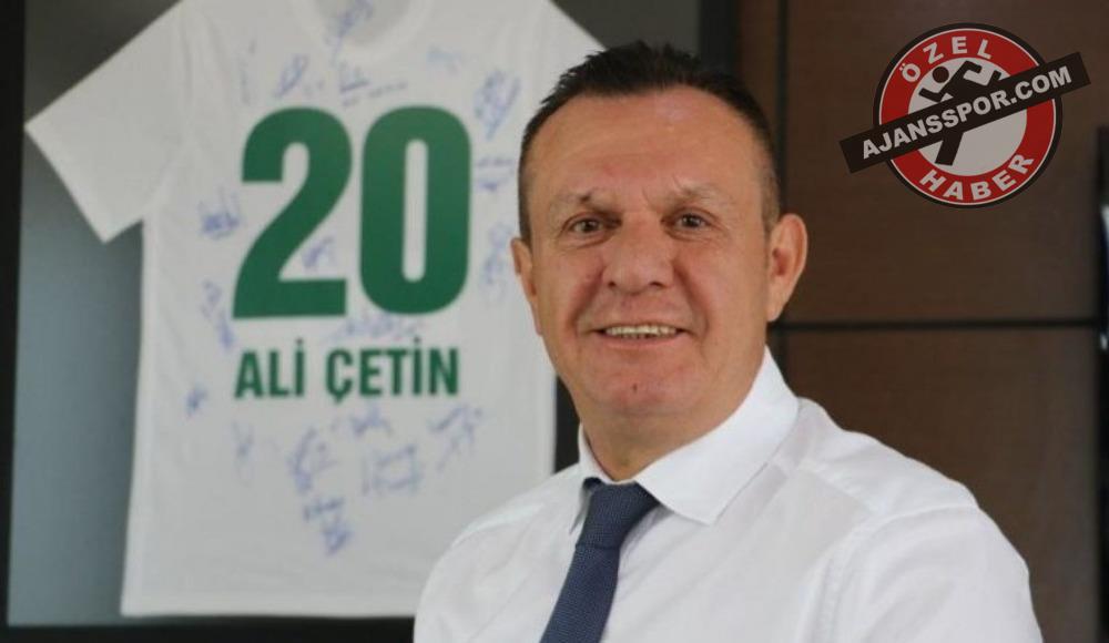 Ali Çetin: 'Hedefimiz ilk 5'