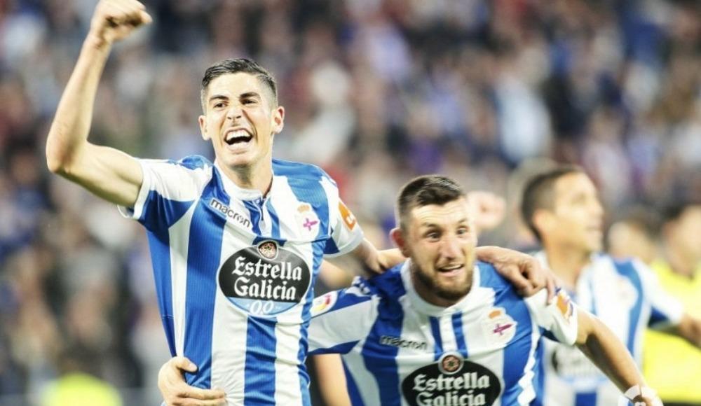 İlk raund Deportivo'nun! 4-2