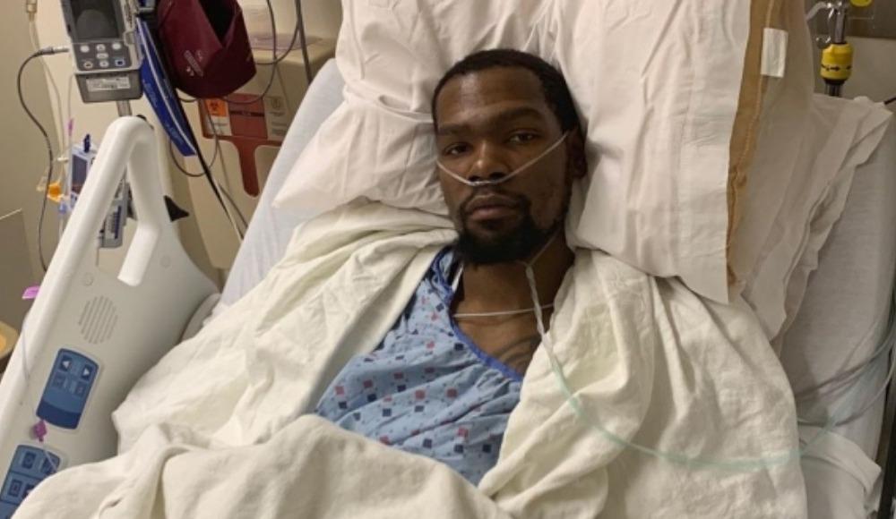 Kevin Durant ameliyat oldu