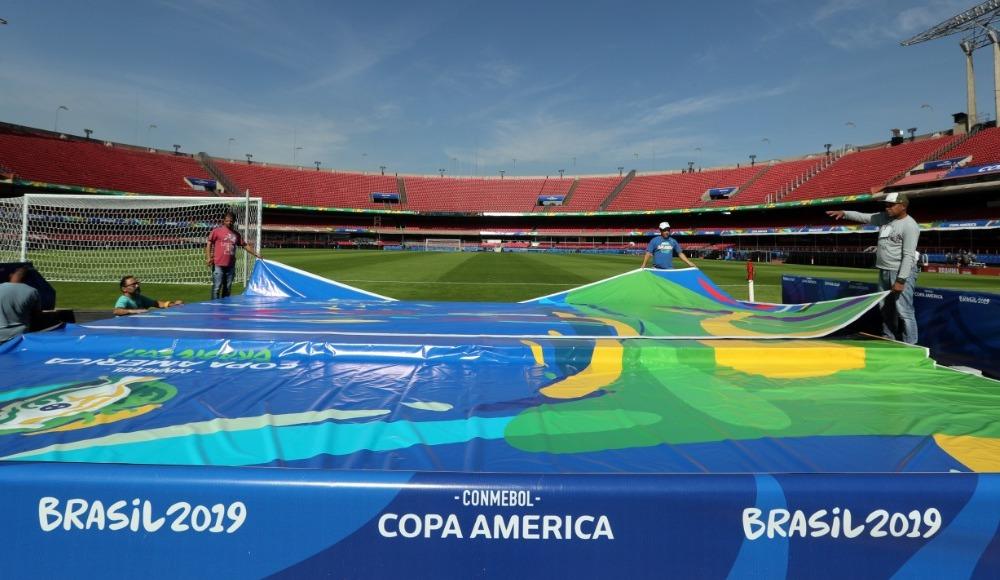 Copa America'da heyecan başlıyor