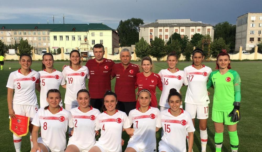 Kadın A Milli Futbol Takımı, Moldova'yı 2-0 yedi