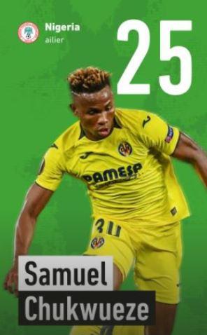 25 - Samuel Chukwueze