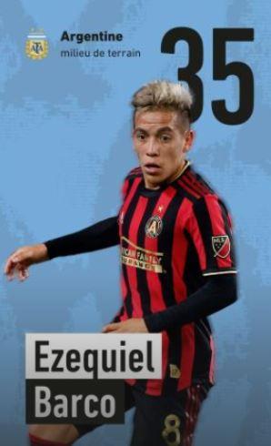 35 - Ezeguiel Barco