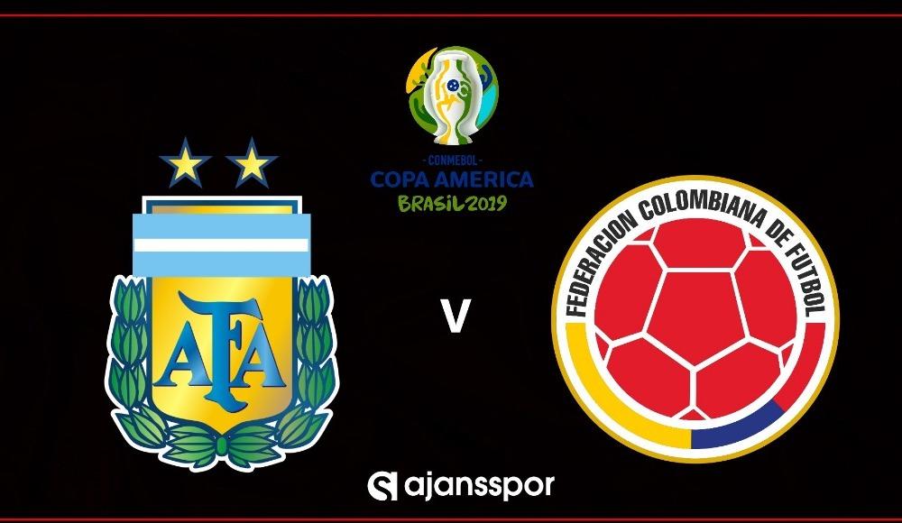 Arjantin - Kolombiya (Canlı Skor)