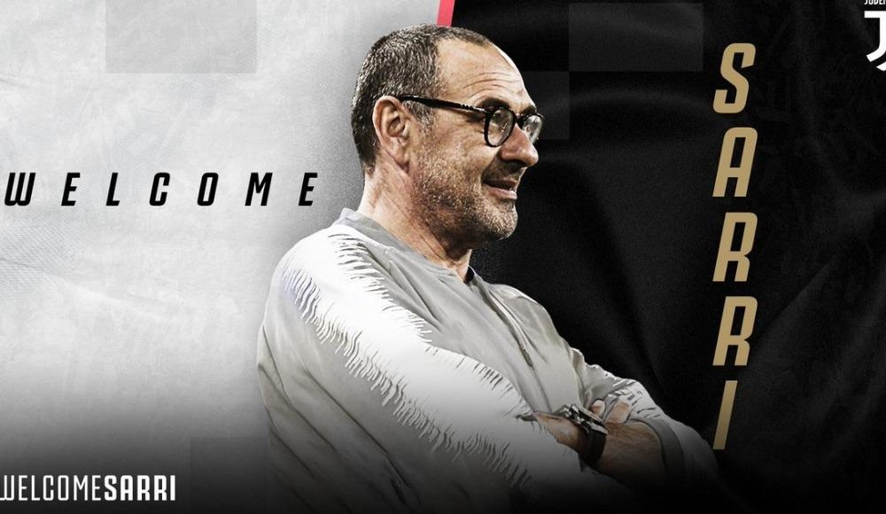 Juventus'ta Sarri dönemi! Resmen açıklandı...