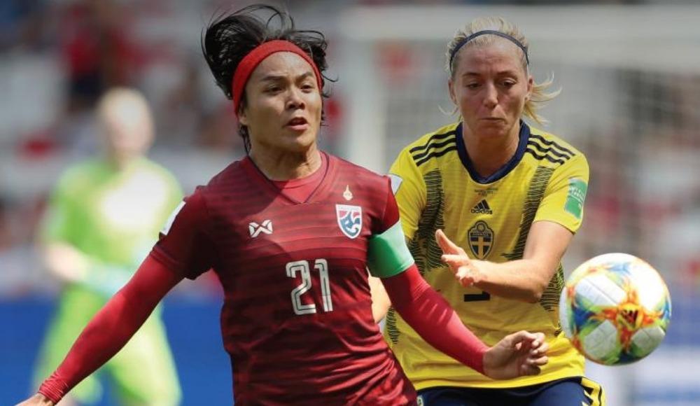 İsveç farklı kazandı, Tayland ilk kez gol attı! 5-1
