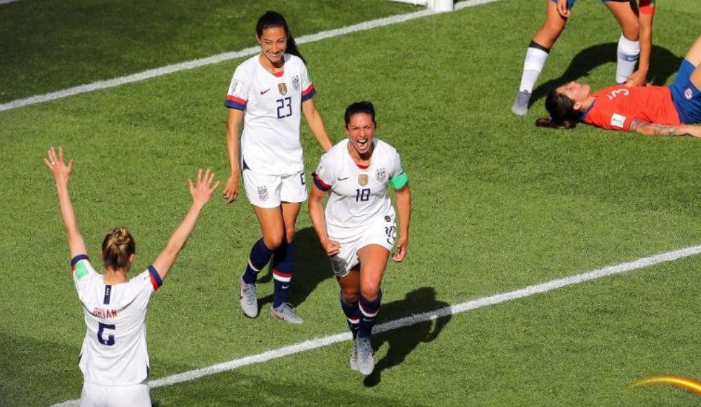 ABD, Şili'yi 3-0 mağlup etti