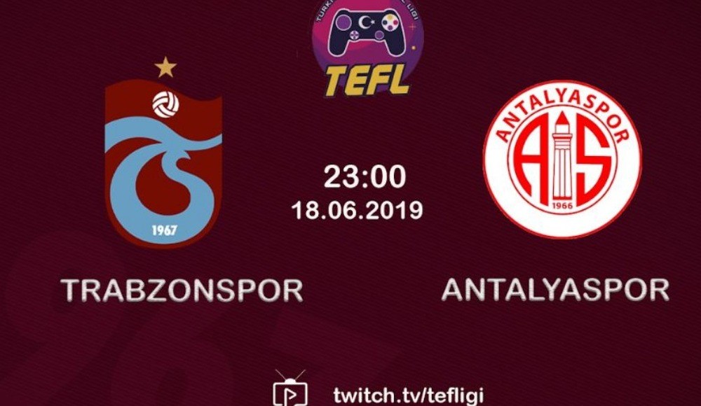 Trabzonspor - Antalyaspor FIFA 19 Anadolu derbisi!