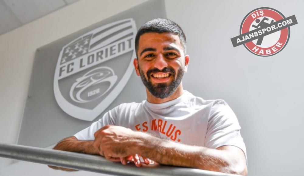 Lorient, Umut Bozok ile 3+1 yıllık sözleşme imzaladı
