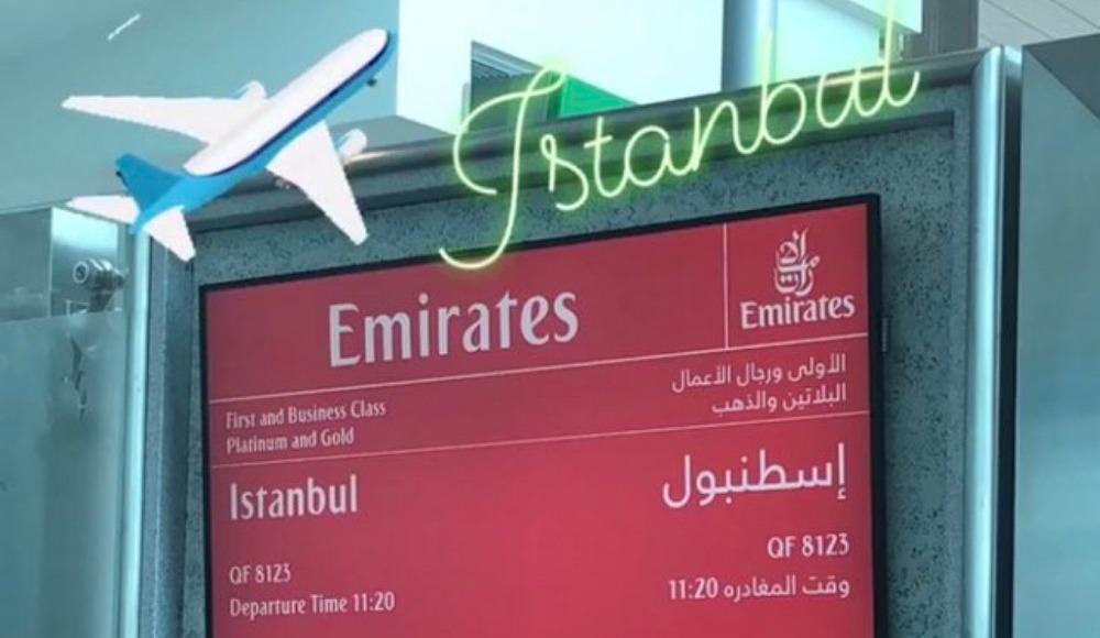 O ismin İstanbul paylaşımı heyecan yarattı! Transfer...