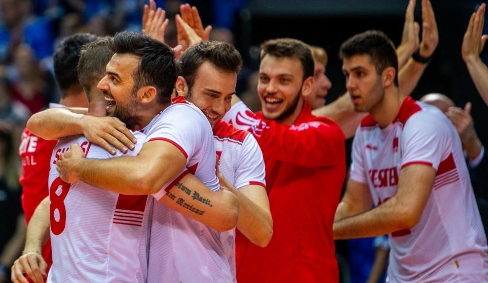 A Milli Erkek Voleybol Takımı, finale yükseldi