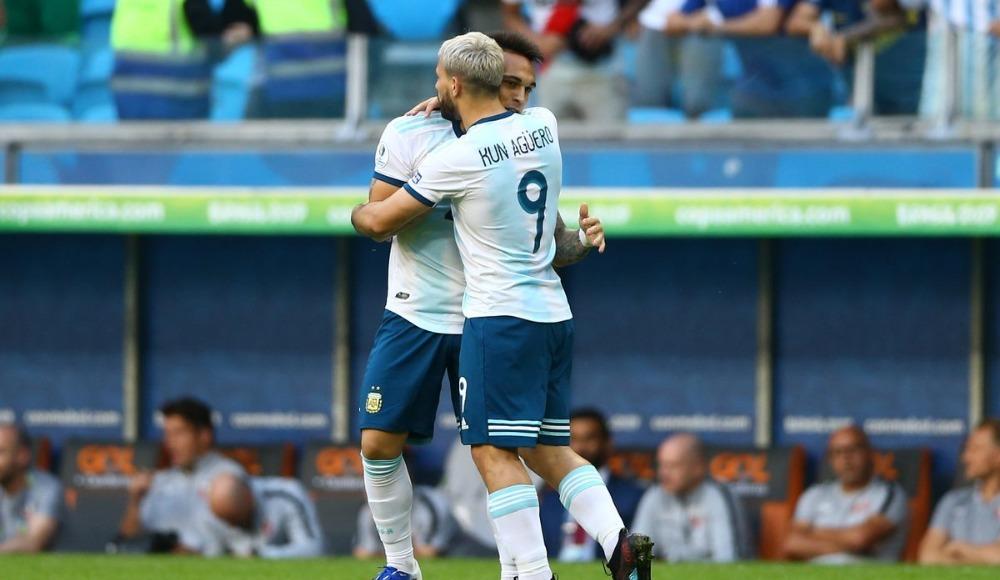 Arjantin kazandı, bir üst tura yükseldi