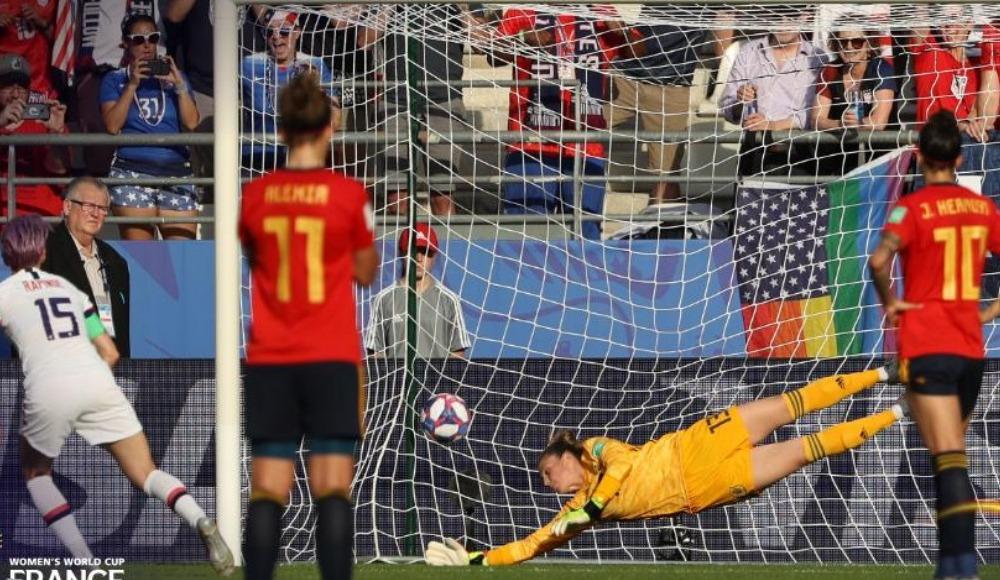 İspanya'yı 2-1 yenen ABD, çeyrek finale yükseldi