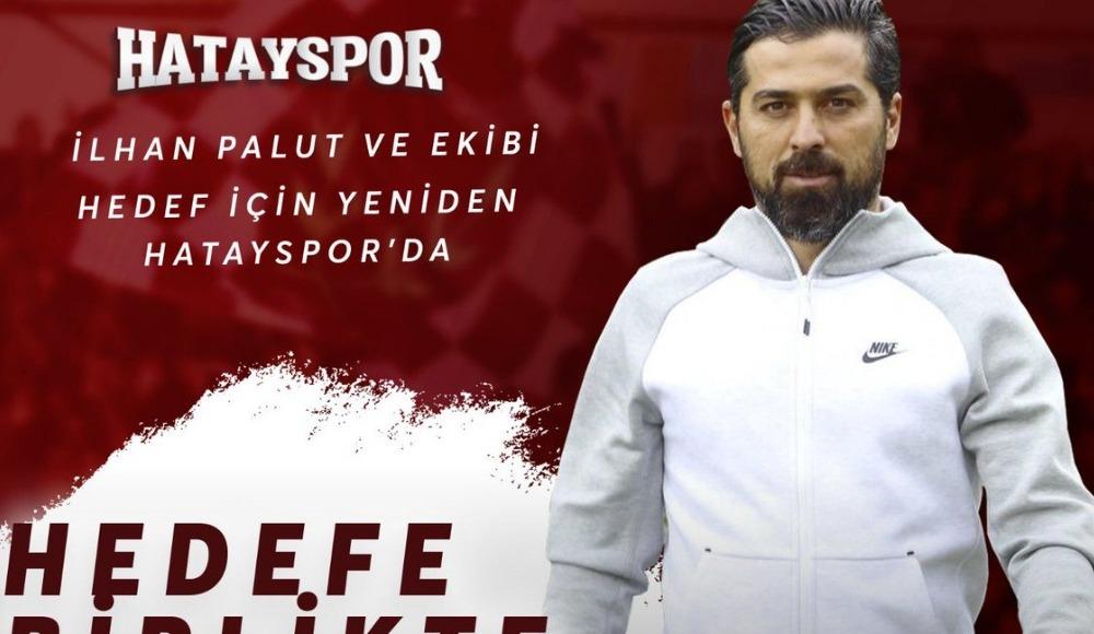 """Hatayspor, İlhan Palut ile """"devam"""" kararı aldı"""