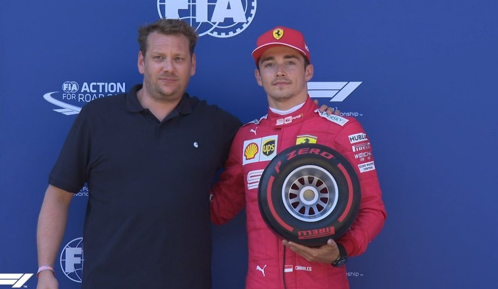 Avusturya'da pole pozisyonu Leclerc'in
